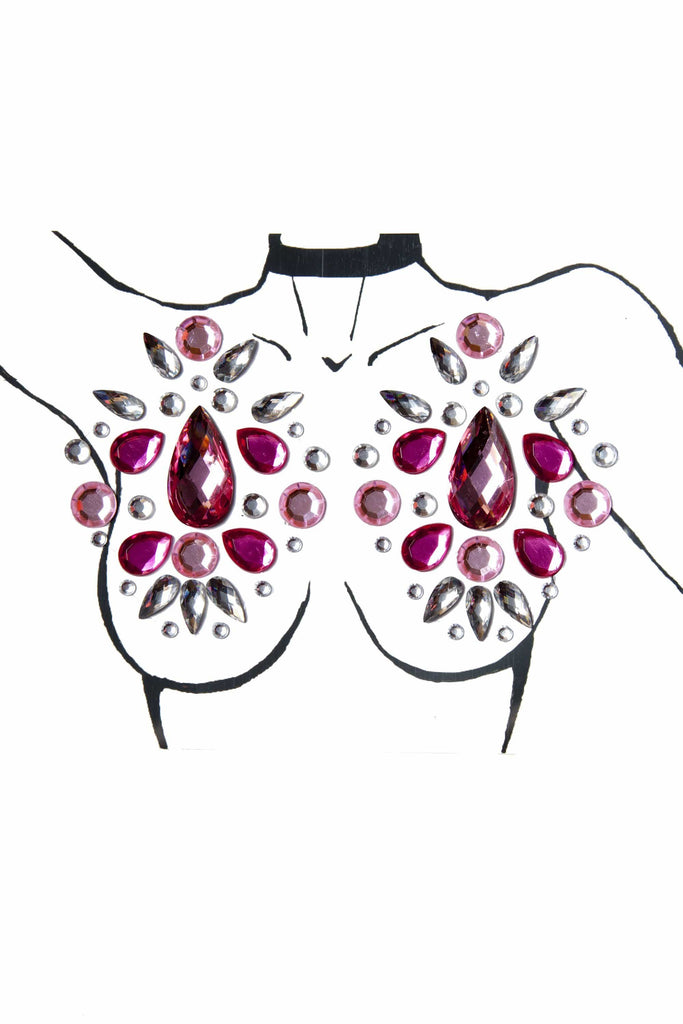 Wolf & Whistle Pink Large Nipple Body Jewels
