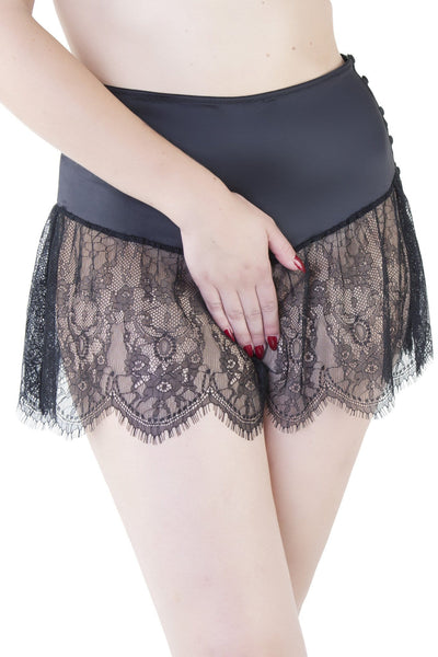 Retro Lace French Knicker - Bettie Page Lingerie