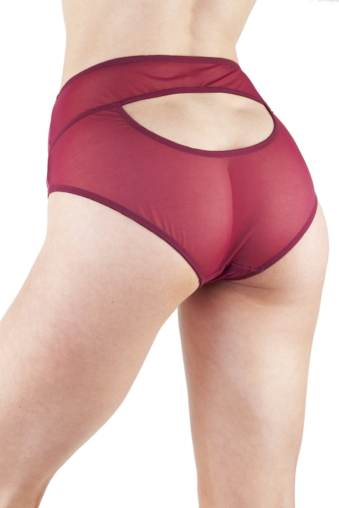 Juliet Wine High Waist Brief