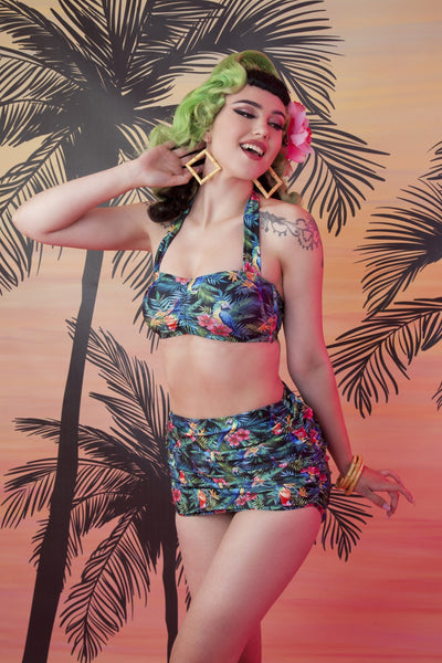Collectif Jungle Balcony top