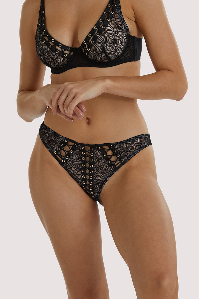 Playful Promises Florence Lattice Brazillian Brief