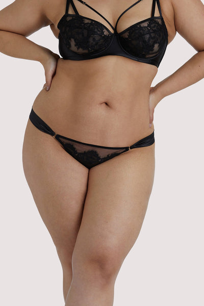 Playful Promises Anneliese Black Curve Brazilian Brief