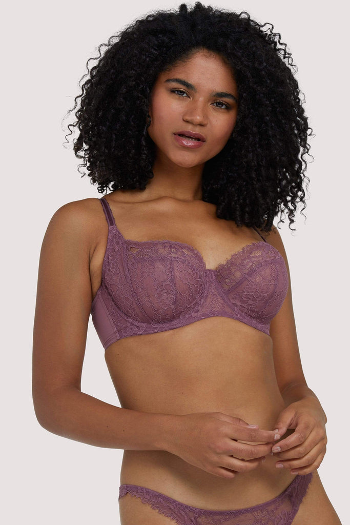 Deja Day Rosalyn Mocha Full Coverage Bra