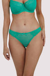 Deja Day Rosalyn Emerald Green Brazilian Brief