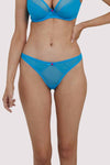 Deja Day Grace Sky Blue Thong