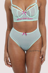 Felicity Hayward High Waist Mint Brief