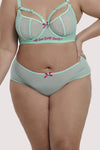 Felicity Hayward High Waist Mint Curve Brief