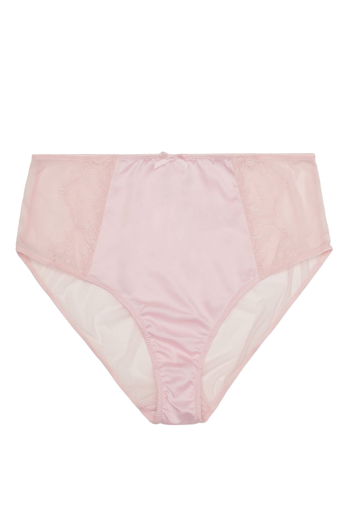 Gabi Fresh Holly Blush Pink Graphic Mesh HW Brief