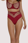 Scantilly Fallen Angel Red High Waist Brief