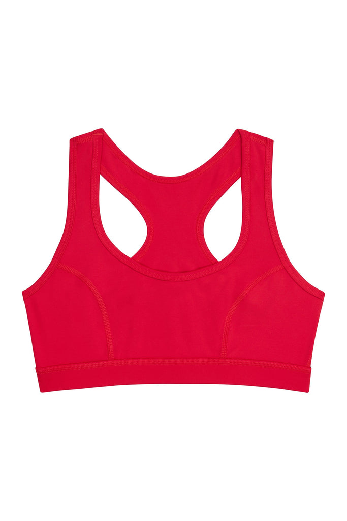 Wolf & Whistle Racer Back Bra Red