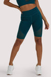 Wolf & Whistle Eco Teal Panel Shorts