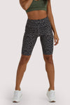 Wolf & Whistle Eco Dusty Olive Leopard Shorts