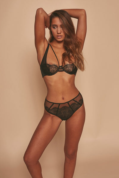 Wolf & Whistle Layla Lace Overlay High Apex Bra