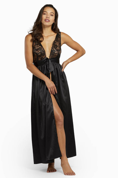 Wolf & Whistle Fabia Eyelash Lace Chemise