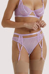 Wolf & Whistle Milana Lilac Thong