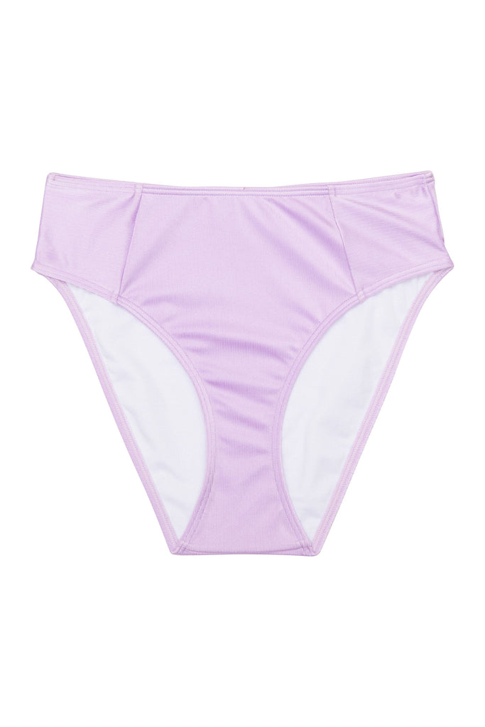 Wolf & Whistle High shine high waist brief lilac