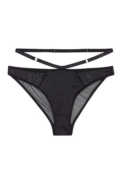 Playful Promises Sacha Multistitch Brazilian Brief Curve