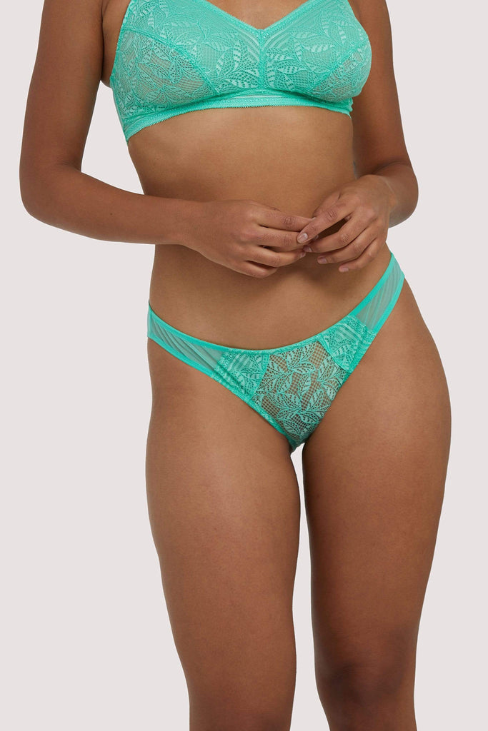 Deja Day Emma Mint Green Brief