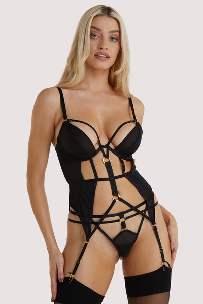 Hustler Sierra Black Gold Ring Basque