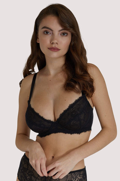 Wolf & Whistle Ariana Black Everyday Plunge Bra