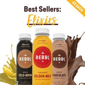 Super Herb Elixirs Best Seller Variety 12 Pack