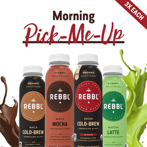 Super Herb Elixirs Morning Variety 12 Pack