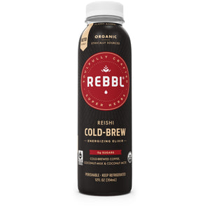 Reishi Cold-Brew Coffee Elixir 12 Pack