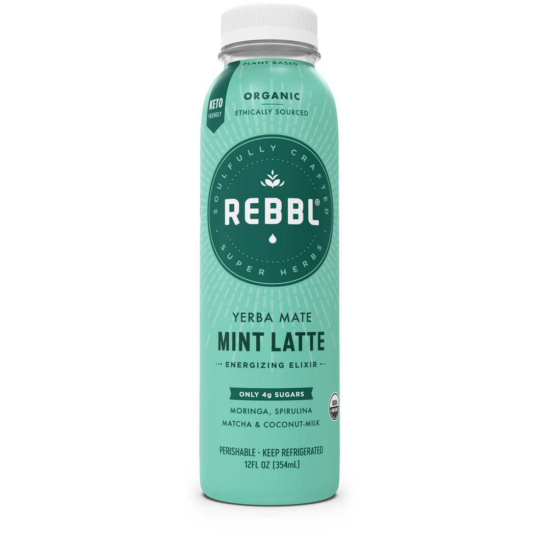 Yerba Mate Mint Latte Super Herb Elixir