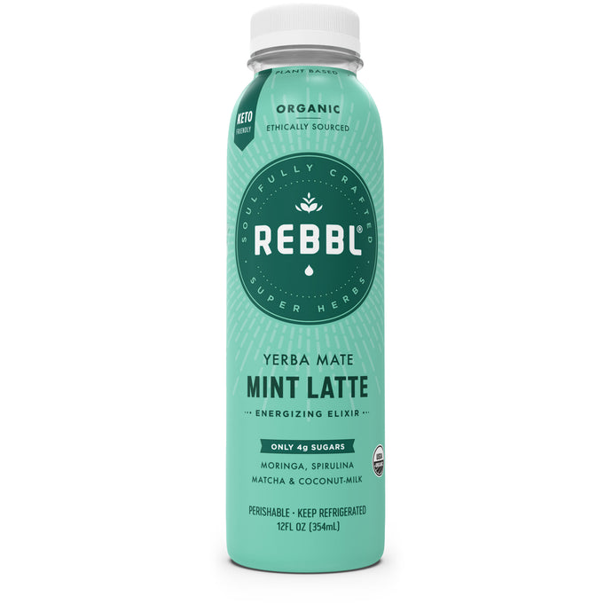 Yerba Mate Mint Latte Super Herb Elixir (Single)