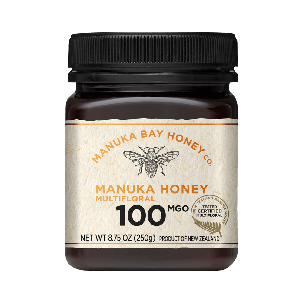MGO 100+ Multifloral Mānuka Honey 250g