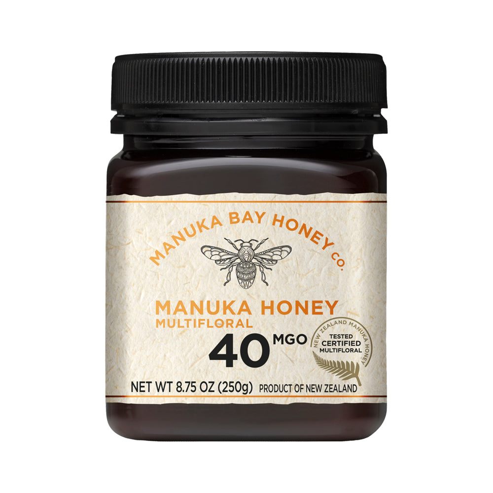 MGO 40+ Multifloral Mānuka Honey 250g