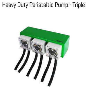 Heavy Duty Peristaltic Pump - Triple