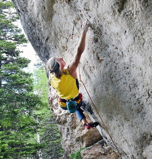 Watch PhysiVāntage Athlete Cameron Hörst Climb His First 5.14d in Under 3 Minutes!