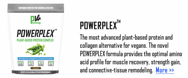 Powerplex plant-based protein and vegan collagen alternative