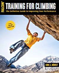 training for climbing book by eric horst