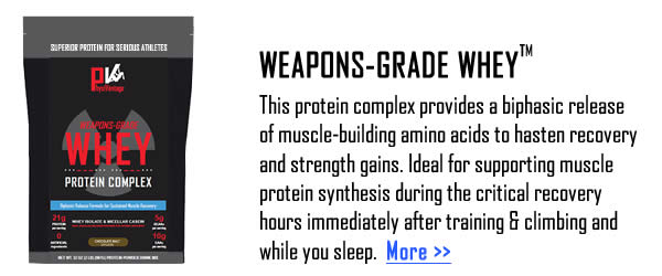 Weapons-Grade Whey Protein Complex