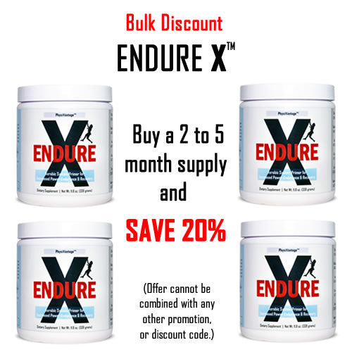 ENDURE X Bulk Discount