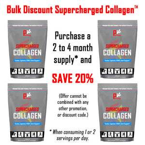 Supercharged Collagen Bulk Discount  (Connective Tissue & Joint Support)