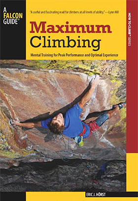 maximum climbing book cover