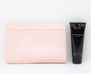 Narciso Rodriguez, For Her, Body Lotion 75 ML with Punk Makeup Pouch