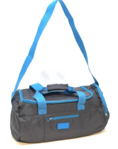 Issey Miyake Sport Mens Blue & Grey Weekend / Gym / Holdall / Travel Bag