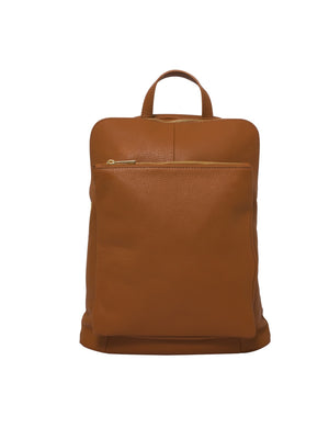 Ricky , Leather Rucksack , Tan , Reduced from £99 to £49