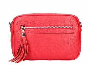Berry , Leather Clutch and Cross Body Bag , Tan