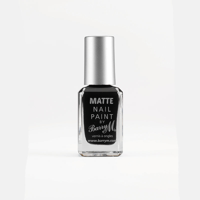 Barry M NP47 Black Nail Polish - The Nail Paint Collection