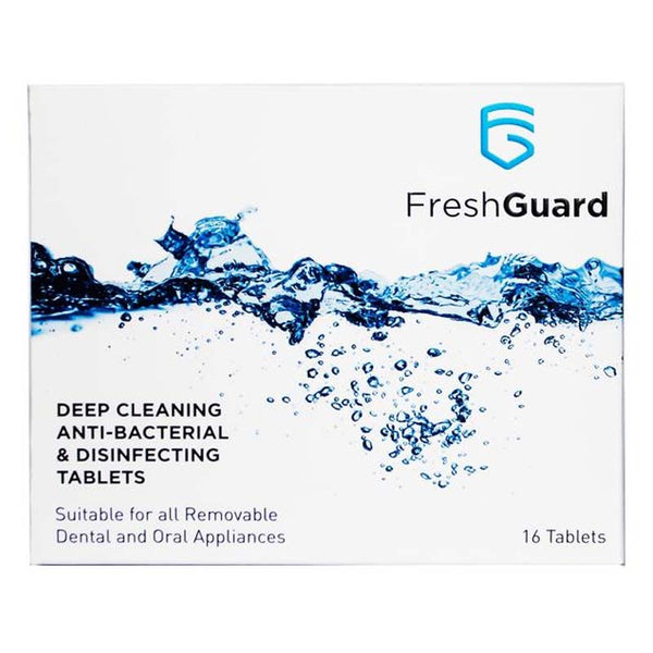 FreshGuard Deep Cleaning Anti-Bacterial and Disinfecting Dental Tablets