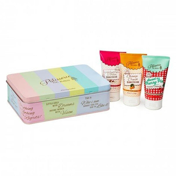 Patisserie De Bain Hand Cream Collection Tin Gift Set (3x 50ml) PB951