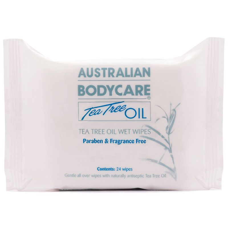 Australian Bodycare Tea Tree Oil Wet Wipes