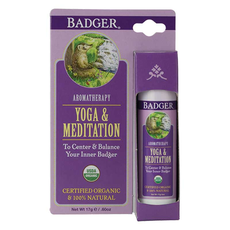 Badger Balm Yoga and Meditation Balm