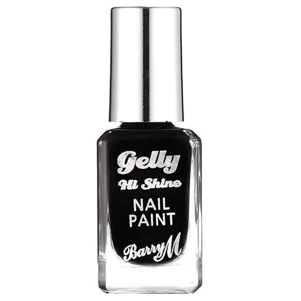 Barry Black Forrest GNP47 Black Nail Polish - The Gelly Nail Effects Collection