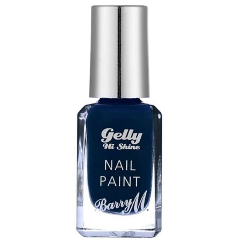 Barry Black Grape GNP41 Blue Nail Polish - The Gelly Nail Effects Collection